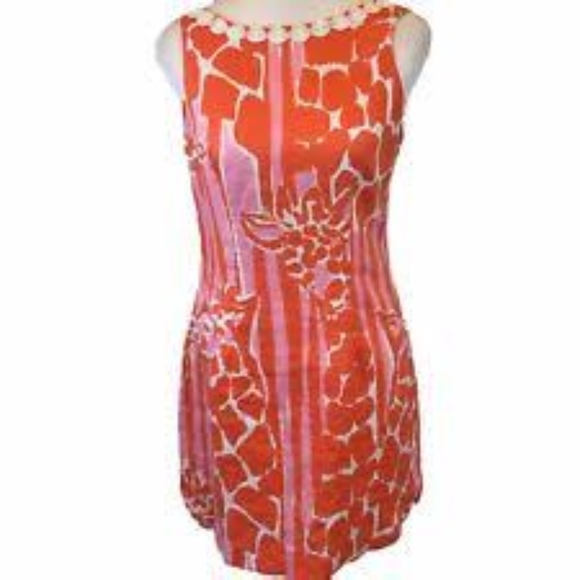 785c7deea8d Lilly Pulitzer for Target Dresses   Skirts - Lilly Pulitzer Target Giraffe  Shift Dress Size 4